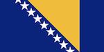 Vlajka Bosna a Hercegovina
