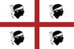 Vlajka Sardínie